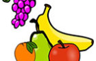 Fruits and vegetables coloring pages for preschoolers