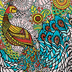Printable Bird coloring pages for adults